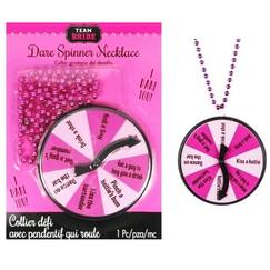 Dare Spinner Game Necklace