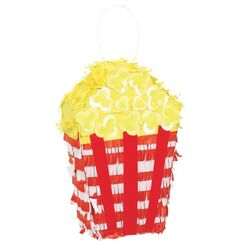 Popcorn Mini-Pinata Decoration