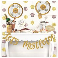 Lets Mistletoe Buffet Decorating Kit