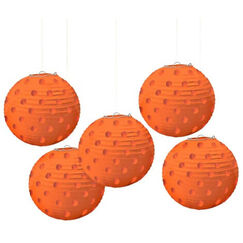 Orange Mini Lanterns - pk5
