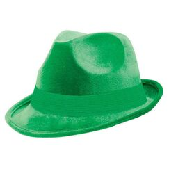 Green Fedora Hat