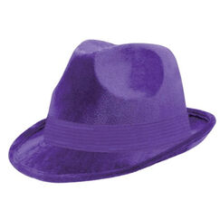 Purple Fedora Hat