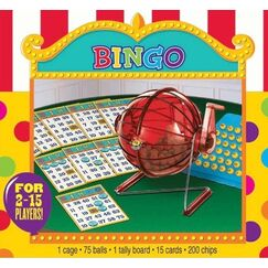 Bingo Game Set