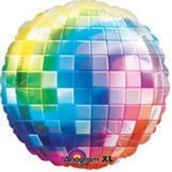 Colour Disco Ball Balloon