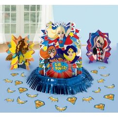 DC Super Hero Girls Table Decorating Kit