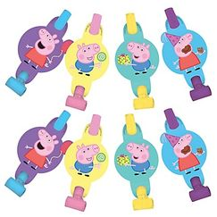 Peppa Pig Party Blowouts - pk8
