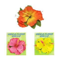 Hibiscus Flower Hair Clip - EACH