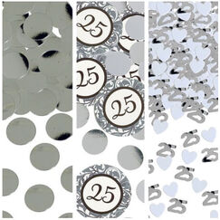 Silver 25th Anniversary Scatter - Bag 34g
