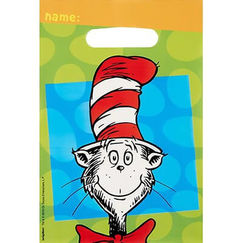 Dr Seuss Party Lootbags - pk8
