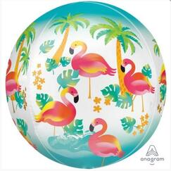 Flamingo Orbz Balloon (40cm)