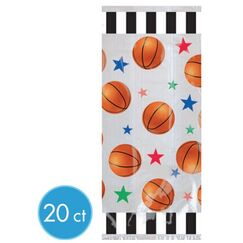 Large Basketball Cello Bags - pk20