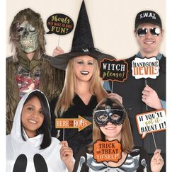 Wicked Halloween Photo Stick Props - pk13