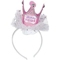 Birthday Princess Crown Headband