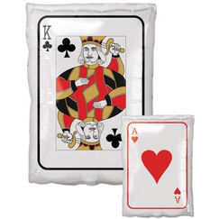 King / Ace Playing Card Balloon (43cm)