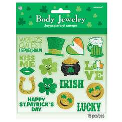 St. Patricks Day Body Jewellery