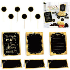 Metallic Gold Buffet Decorating Kit