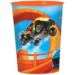 Hot Wheels Plastic Souvenir Cup - EACH