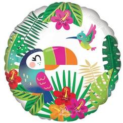 Tropical Paradise Balloon (45cm)