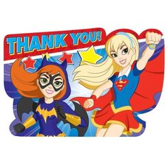 DC Super Hero Girls Thank-you Kit for 8