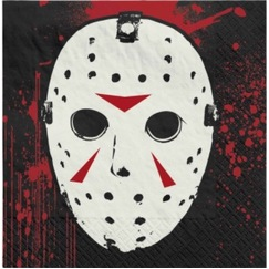 Friday the 13th Napkins - pk16