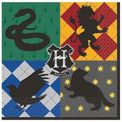 Large Harry Potter Napkins - pk16