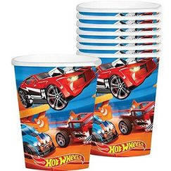 Hot Wheels Car Racing Cups - pk8