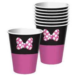 Minnie Mouse Cups - pk8