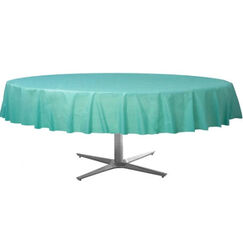 Robins Egg Tablecloth - Round