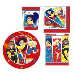 DC Super Hero Girls Party Pack for 8