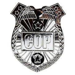 Police Cop Badge - Each