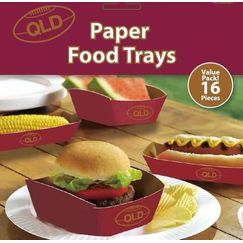 QLD Rugby Food Trays - pk16