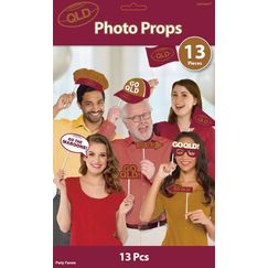 QLD Rugby Photo Stick Props - pk13