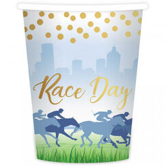 Race Day Paper Cups - pk8