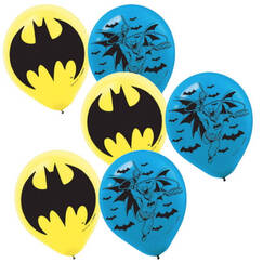 New Batman Balloons - pk6