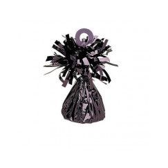 Black Foil Balloon Weight - EACH