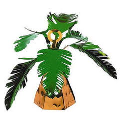 Large Foil Palm Tree Balloon Weight - Each