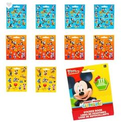 Mickey Mouse Sticker Book (111 stickers)