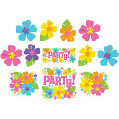 Hibiscus Party Cut-outs - pk12