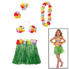 Child Hula Costume Kit