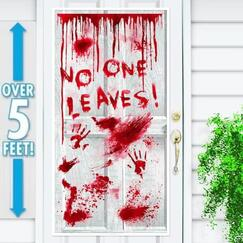 Asylum No One Leaves Door Cover