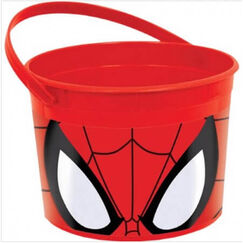 Spiderman Party Favours Container - Each