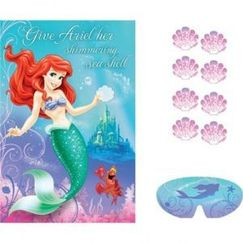 Ariel The Little Mermaid Party Game