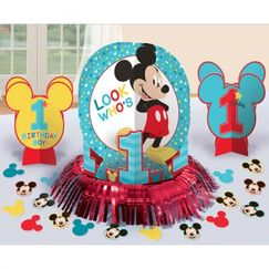 Mickey Mouse 1st Birthday Table Kit