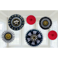 Hollywood Hanging Fans - pk6