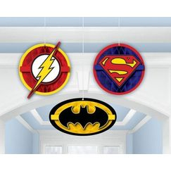 Hanging Justice League Decorations - pk3