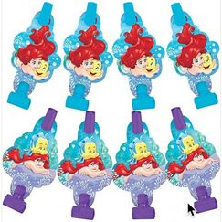 Ariel The Little Mermaid Blowouts - pk8