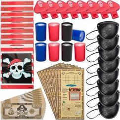 Pirate Party Lootbag Kits for 8