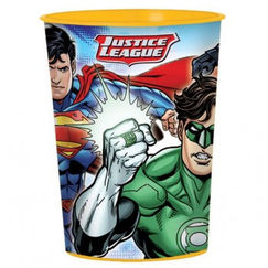 Justice League Plastic Souvenir Cup - EACH