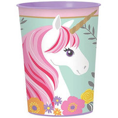 Magical Unicorn Plastic Souvenir Cup - EACH