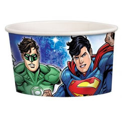 Justice League Treat Cups - pk8